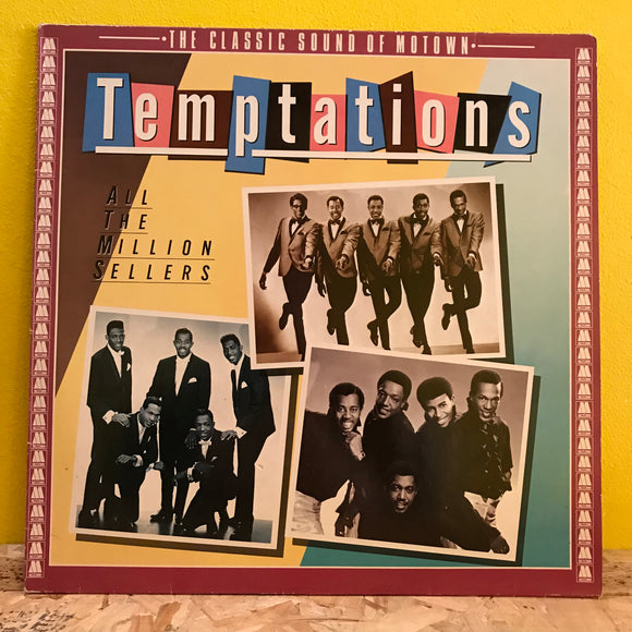 The Temptations ‎– All The Million Sellers - LP - soul