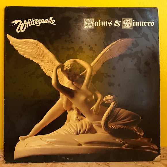 Whitesnake - Saints and Sinners - LP - hard rock