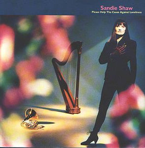 "Sandie Shaw - Please Help the Cause Against Lonliness - 12"" single - synth pop"