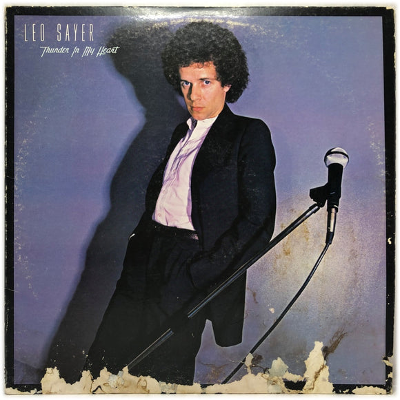 Leo Sayer - Thunder in my Heart - LP - pop rock