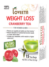 15 Ct Weight Loss - Cranberry Tea
