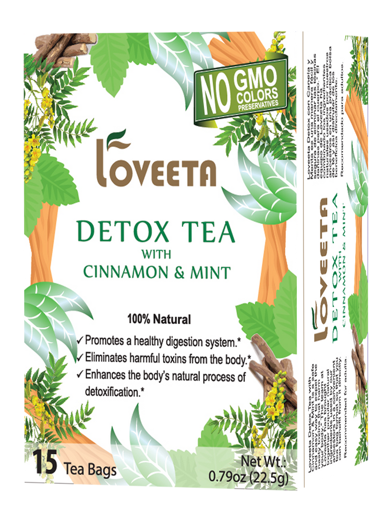 15 Ct Detox Tea With Cinnamon & Mint