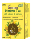 15 Ct Moringa Tea With Ginger & Lemon