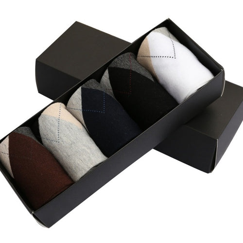 High Quality Men Socks Cotton 5pairs
