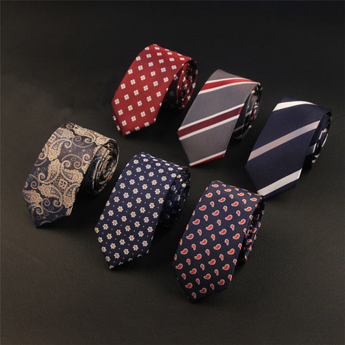 Polyester Business Tie