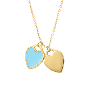Gold-Colour-Hearts-Necklace