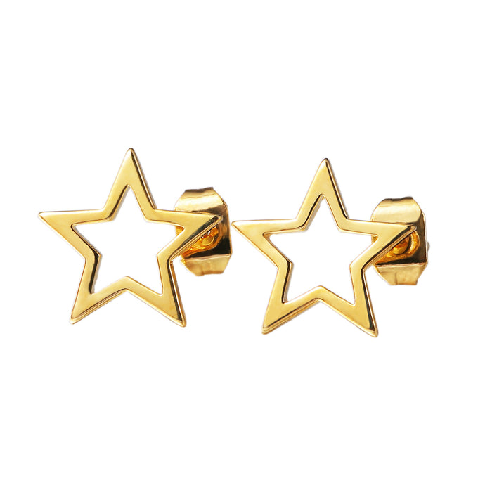 Gold-Stars-Earrings