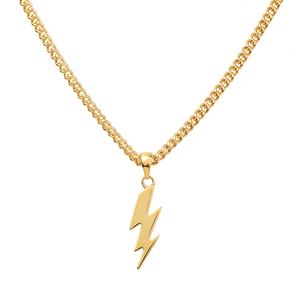 Gold-Thunderbolt-Necklace