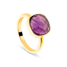 Amethyst Natural Stone Ring (Positive Energy)