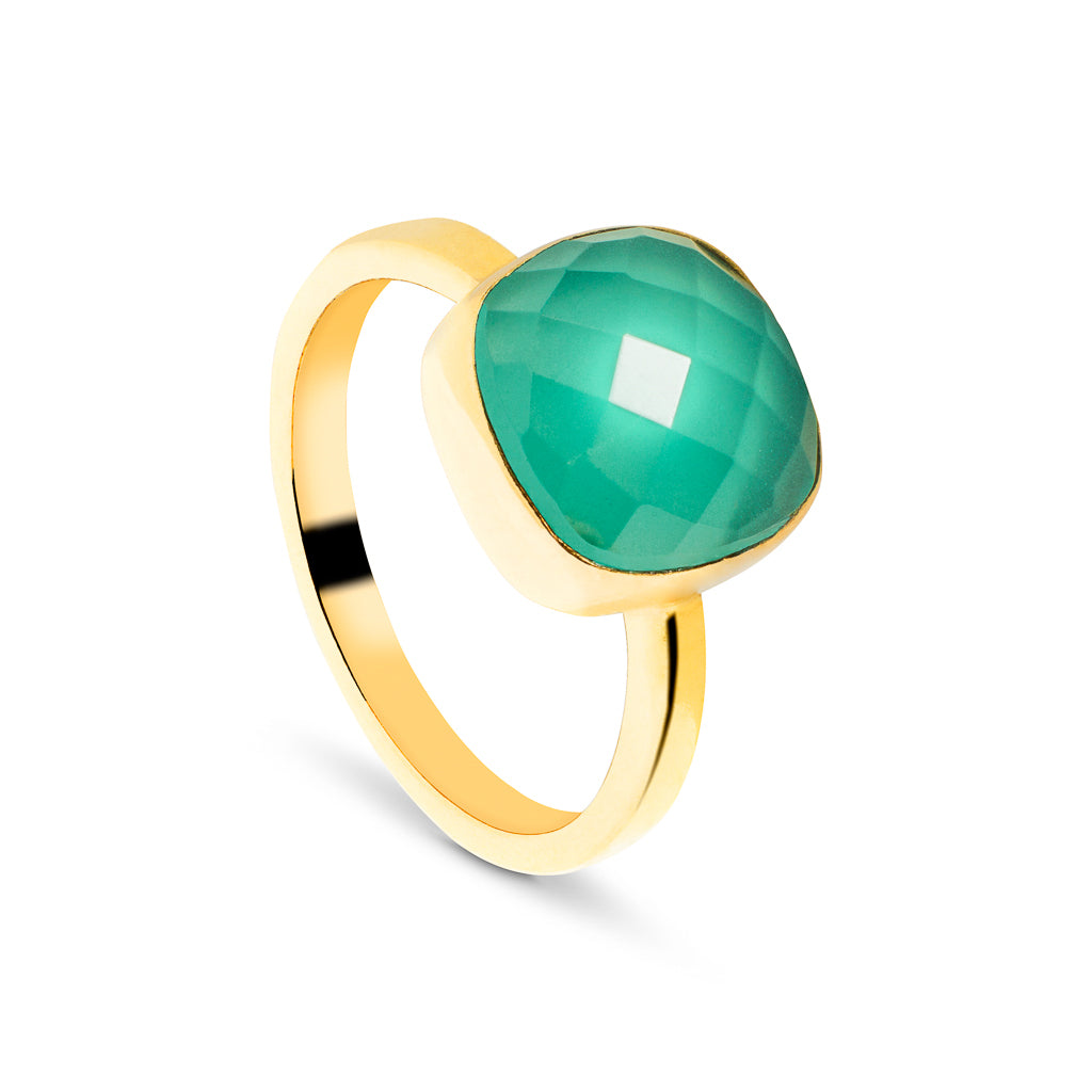ring stone and product gold front diamond emerald view white