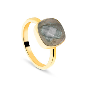 Tourmaline Natural Stone Ring (Passion)