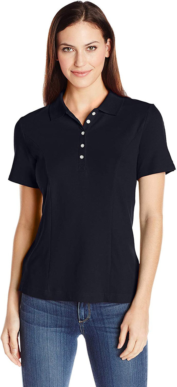 Women's Short-Sleeve Polo Shirt - Bomberish