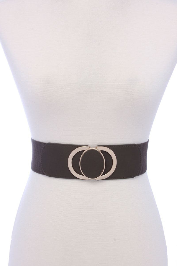 Pu Leather Elastic Belt - Bomberish