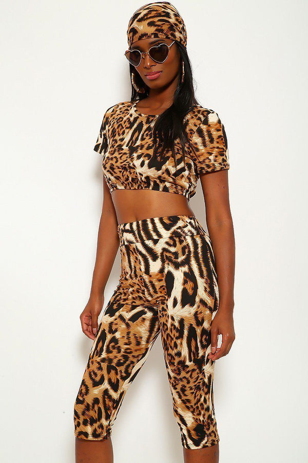 Animal Print, 3 Piece Set - Bomberish