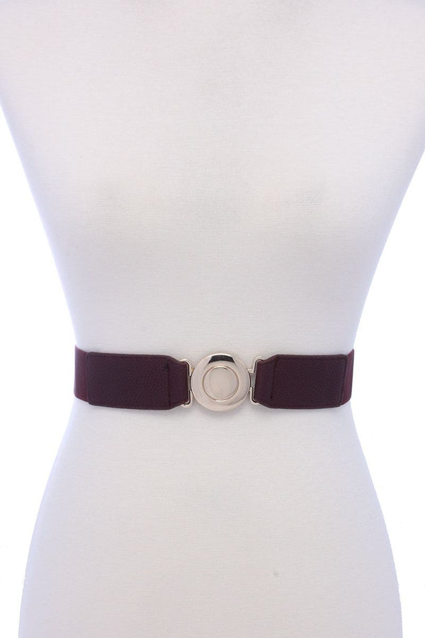 Metal Buckle Elastic Belt - Bomberish