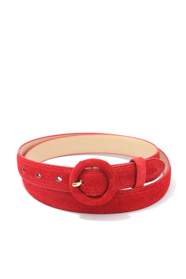 Soft Rounded Buckle Belt - Bomberish