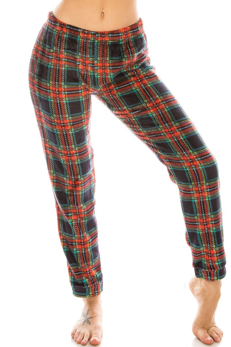 Flannel Pj Pants - Bomberish