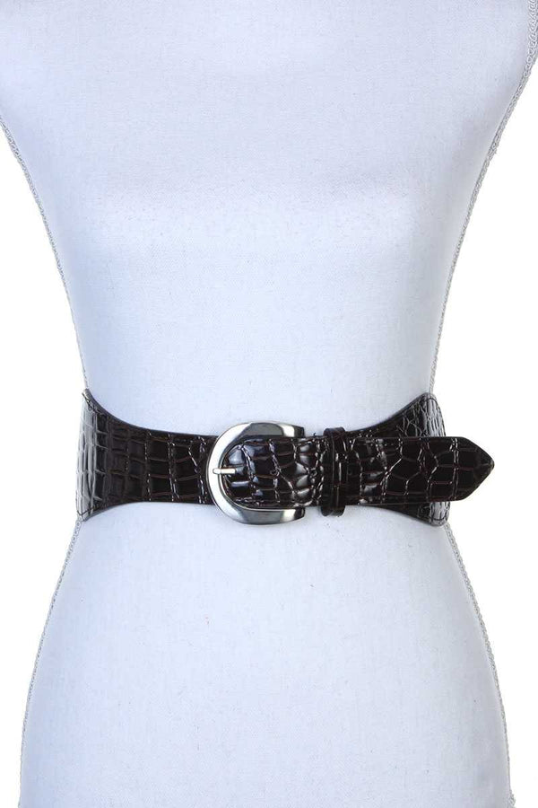 Pu Leather Stretch Belt - Bomberish