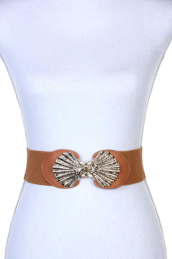 Metal Buckle Stretch Belt - Bomberish