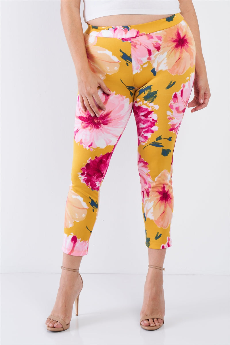 Chic Ankle Length Leggings - Bomberish