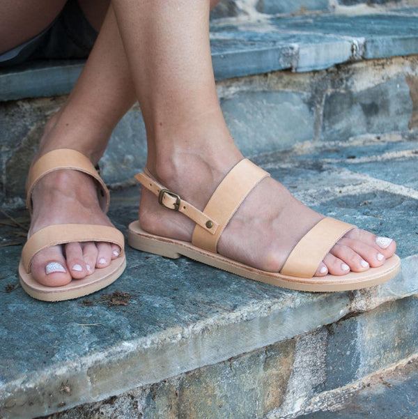 Ancient classic Greek sandals - Bomberish