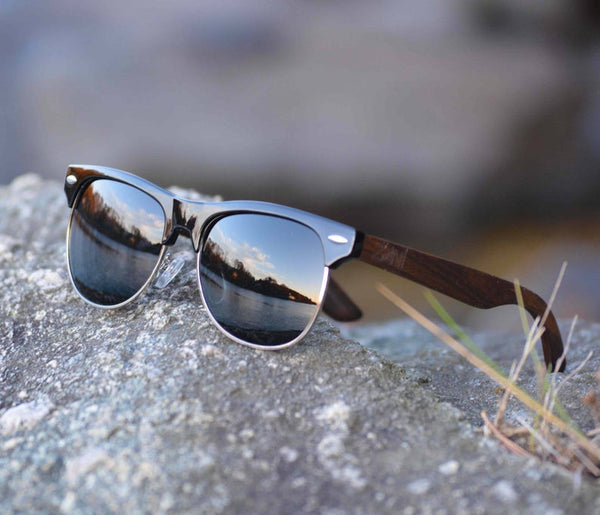 Polarized Wood Sunglasses - Bomberish