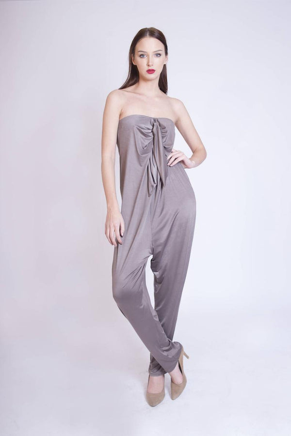 Off Shoulder Top, Sexy Jumpsuit - Bomberish