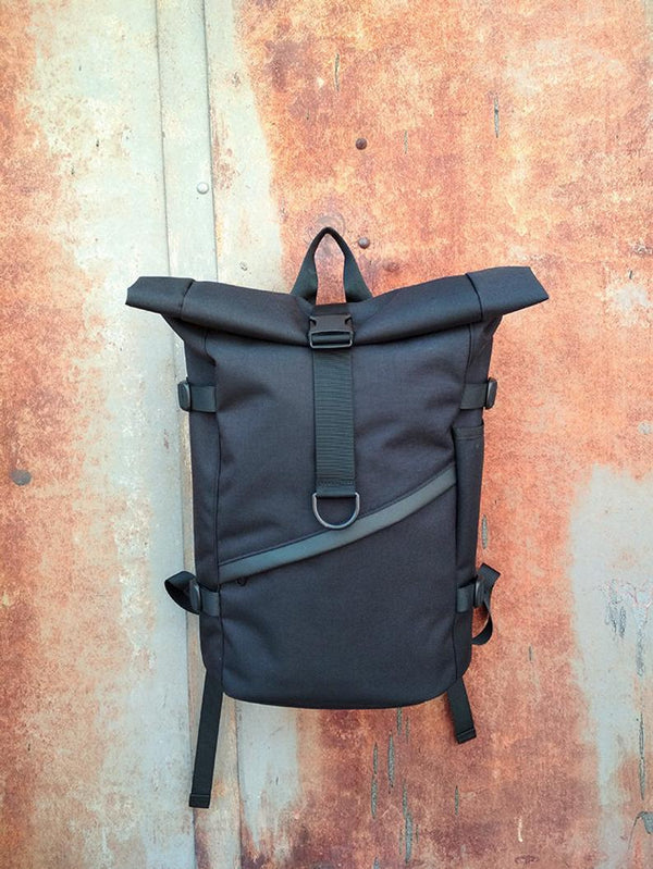 Waxed canvas Waterproof backpack - Bomberish