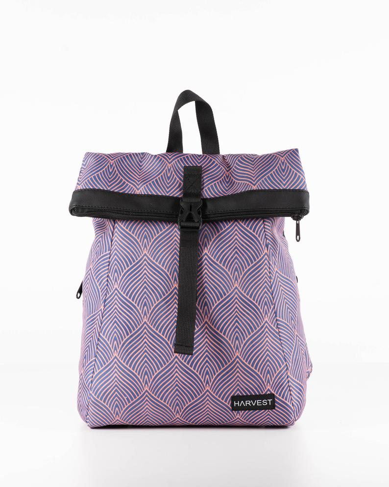 Canvas girls teen printed Backpack - Bomberish