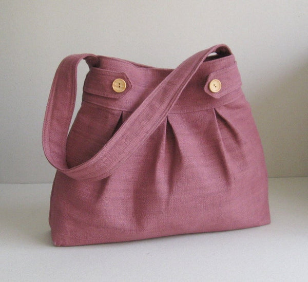 Mulberry Hemp Fiber Shoulder bag - Bomberish