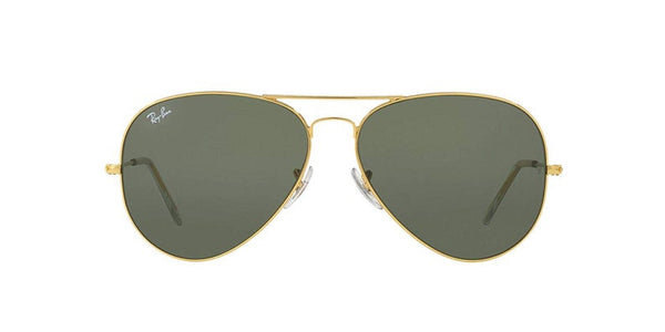 Ray-Ban Green Unisex Aviator Sunglasses - Bomberish