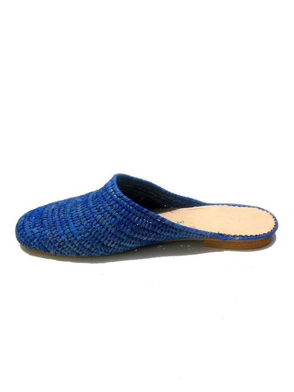 Women Raffia Slippers - Bomberish