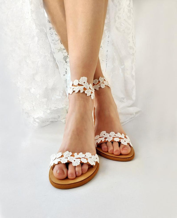 Wedding Sandals / Flat Sandals - Bomberish