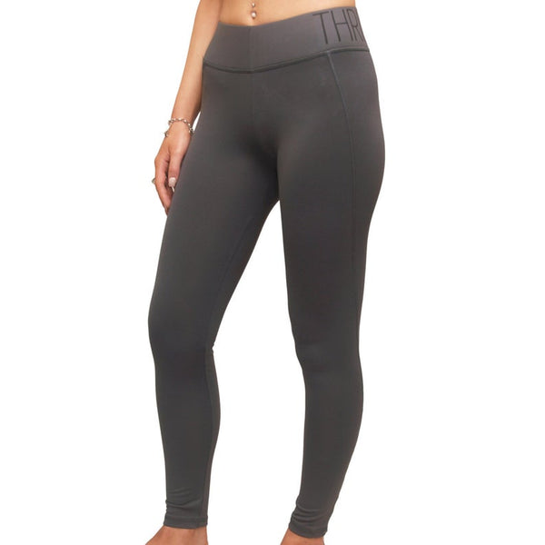 THRILL Charcoal Leggings - Bomberish