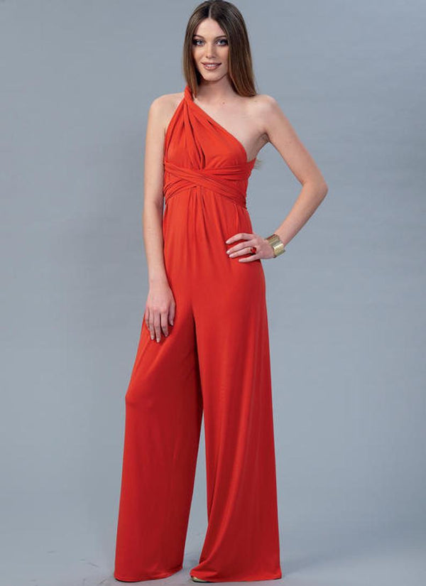 Endless Tie Options Knit Dress and Jumpsuit - Bomberish