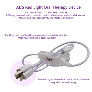 Red Light Oral Therapy Device