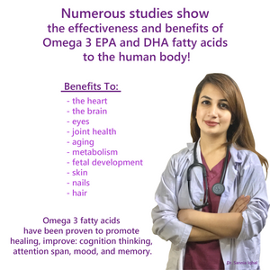 TAL'S Ultimate Omega 3, Wild Ocean Fish Oil, EPA, DHA & Fatty Acids with A Twist of Lemon!