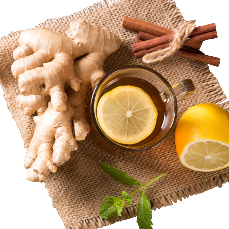 TAL'S GINGER BLAST EXCLUSIVE GOURMET 100% ORGANIC CUSTOM LOOSE HERBAL TEA BLEND.