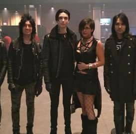 Meeting Andy Black (of the Black Veil Brides)
