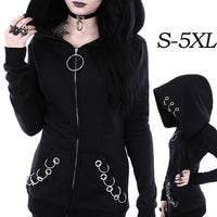 NEW: Gothic Black Women's Jacket