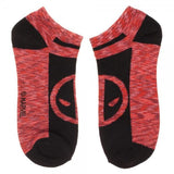 3-Pair Marvel Deadpool Ankle Socks - Style 2