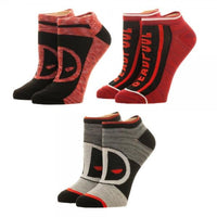 3-Pair Marvel Deadpool Ankle Socks