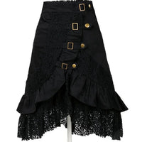 Women's Steampunk Lace Skirt