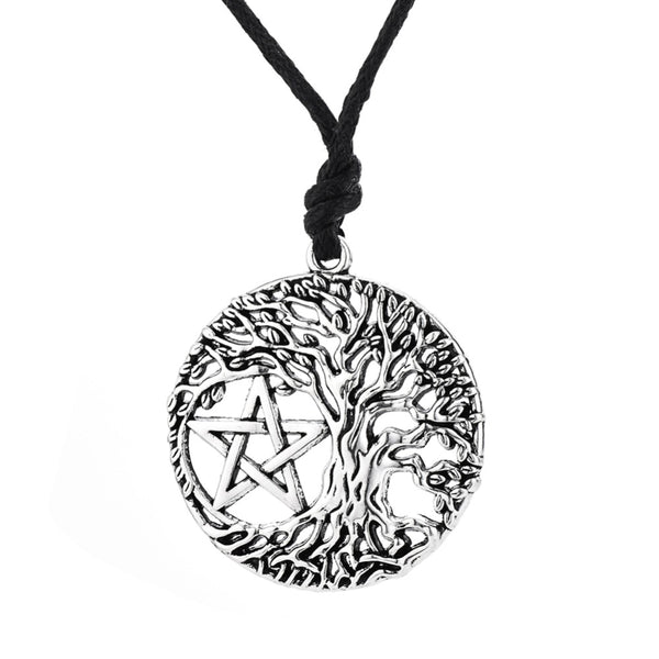 Tree of Life Pentagram Necklace