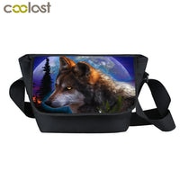 Wolf Messenger Bag (Multiple Styles)