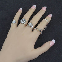 5-Piece Gypsy Ring Set