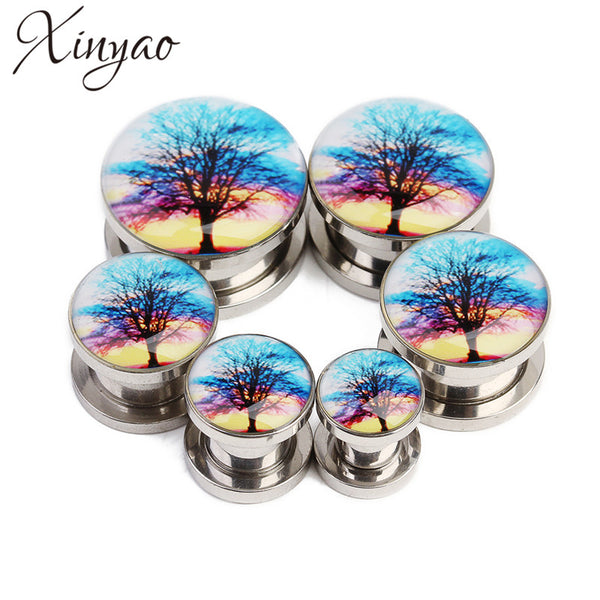 Galaxy Tree Tunnel Plugs