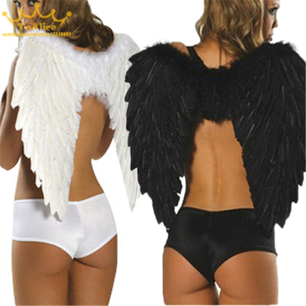 Angel & Devil Feather Wings for Costumes & Cosplay