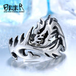 Stainless Steel Gothic Dragon Ring
