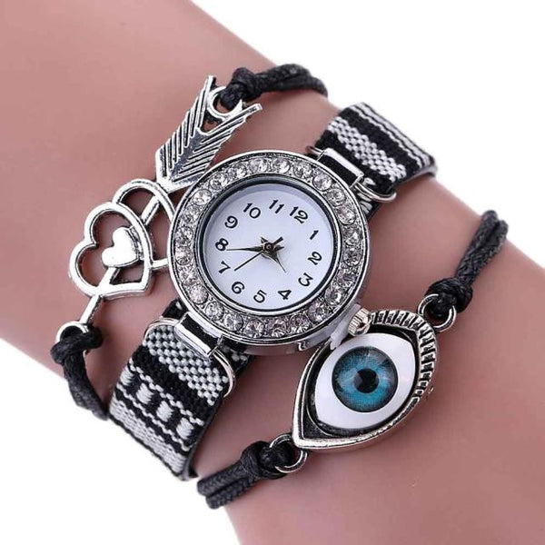 Women's Crystal Eye Watch